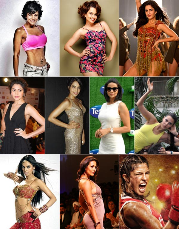 Mandira, Katrina, Priyanka: Who's got the BEST muscles? VOTE!