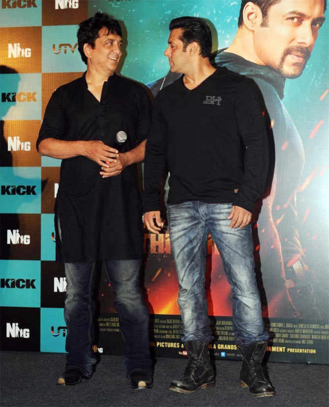 Sajid Nadiadwala and Salman Khan
