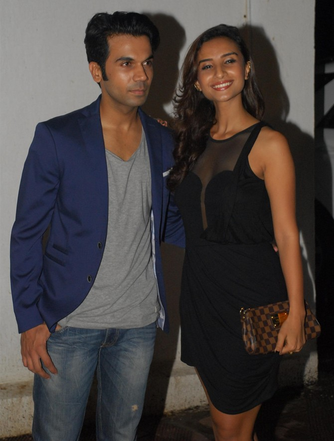Rajkummar Rao and Patralekha