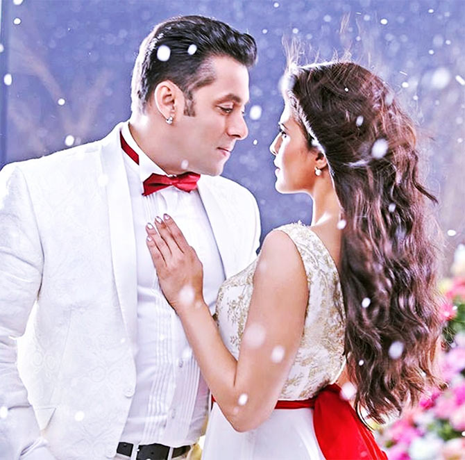 Salman Khan and Jaqueline Fernandes in Kick