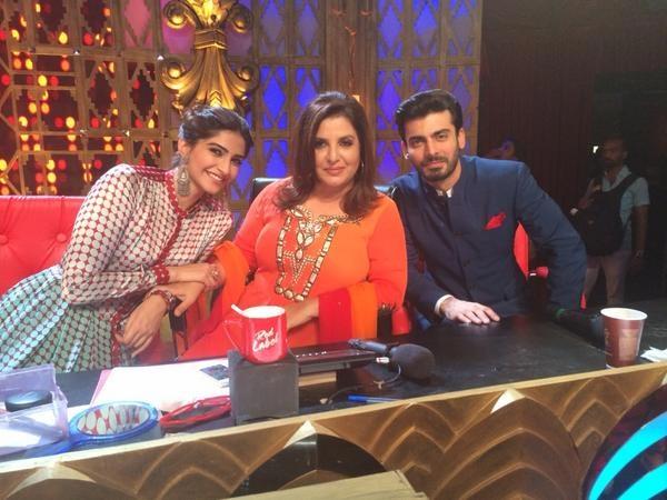 Sonam Kapoor, Farah Khan and Fawad Khan