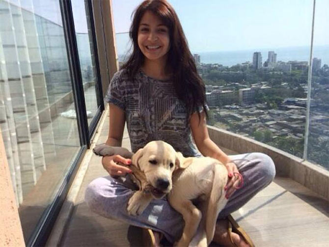 Anushka Sharma with Dude