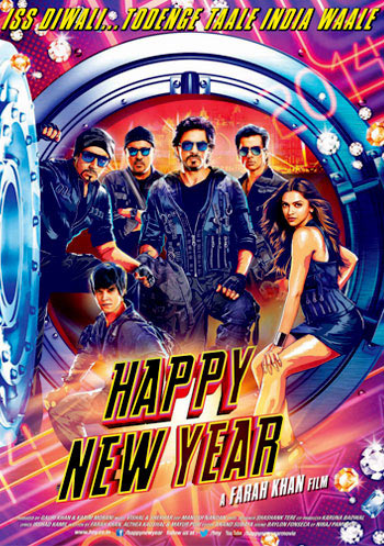 The Happy New Year poster