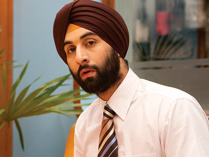 Ranbir Kapoor in Rocket Singh: Salesman Of The Year