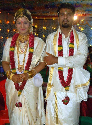 Rambha and Indran Pathmanathan
