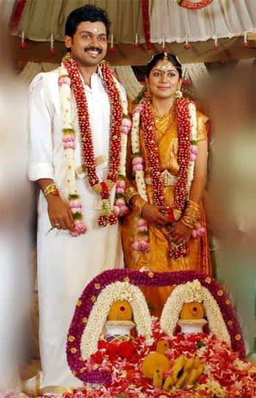 Karthi and Ranjini
