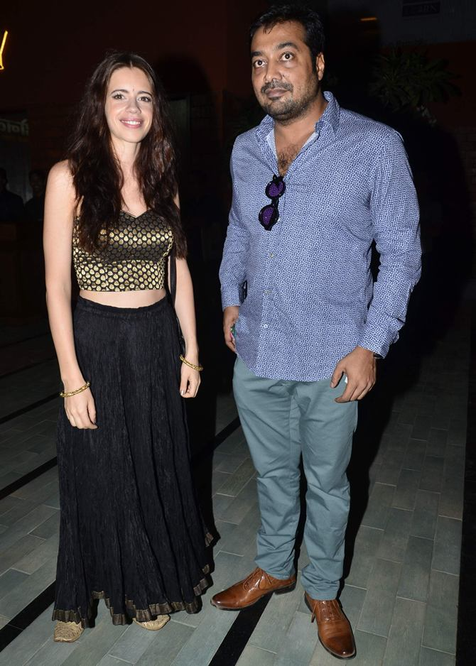 Kalki Koechlin and Anurag Kashyap
