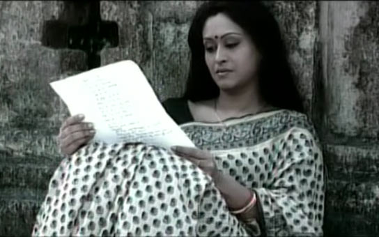 Indrani Halder in Jara Brishtite Bhijechhilo