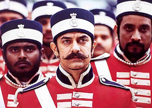 Aamir Khan in Mangal Pandey: The Rising