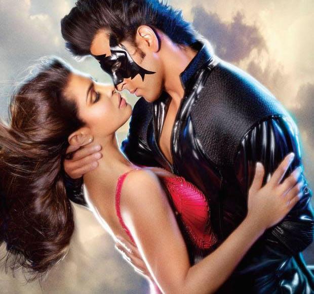 Priyanka Chopra and Hrithik Roshan in Krrish 3