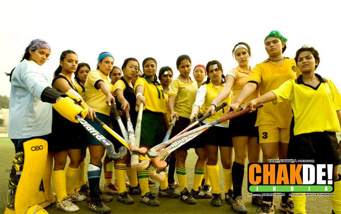 Movie poster of Chak De! India