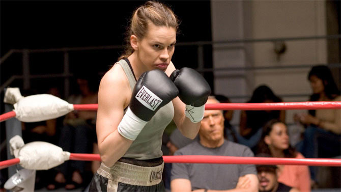 Hilary Swank in Million Dollar Baby