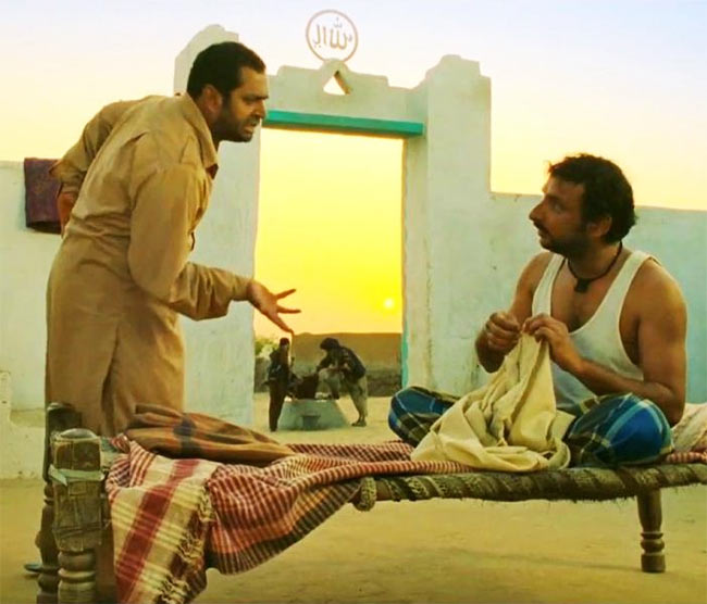 A scene from Filmistaan