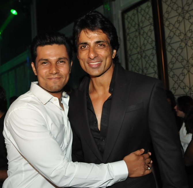 Randeep Hooda and Sonu Sood