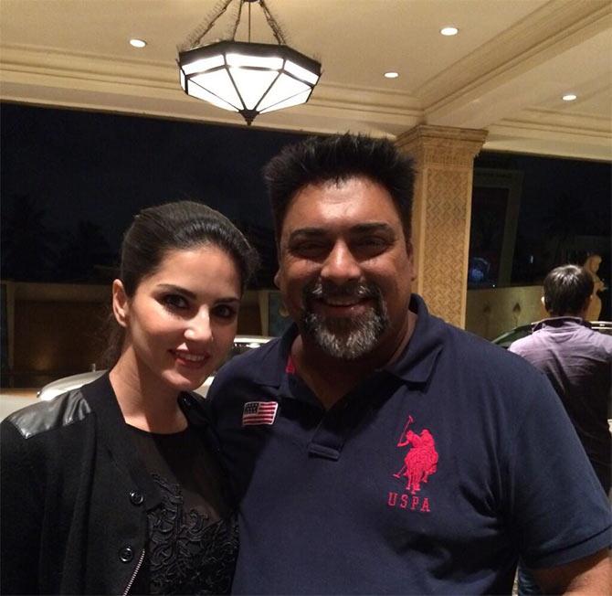 Sunny Leone and Ram Kapoor