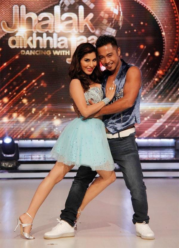 Sophie Choudry and Deepak Singh