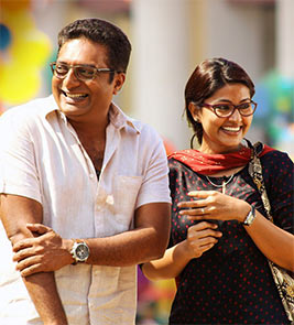 Prakash Raj and Sneha in Un Samayal Arayil