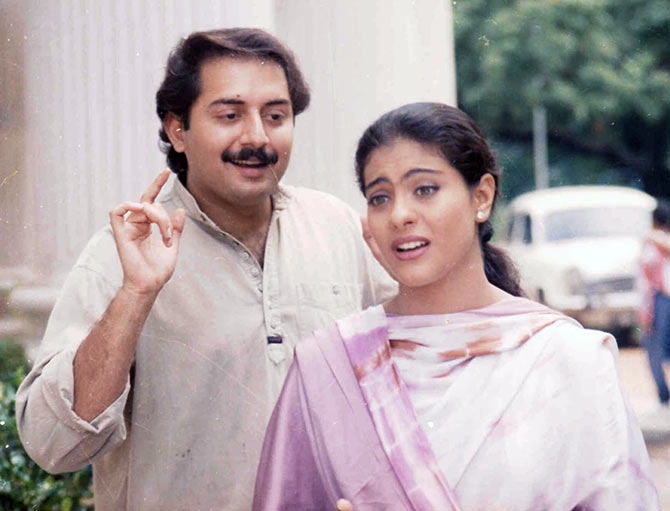 Arvind Swamy and Kajol in Minsara Kanavu