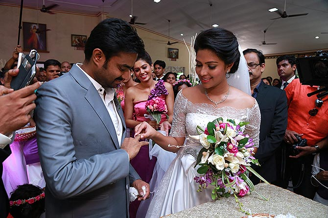 A L Vijay and Amala Paul
