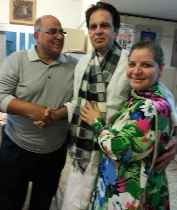 Dilip Kumar with Aabeda and Khalid