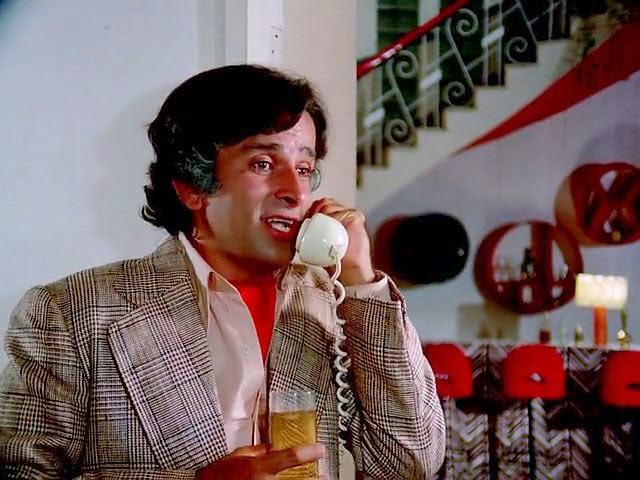 Shashi Kapoor in Kabhi Kabhie