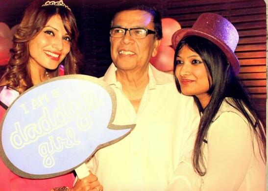 Bipasha Basu with father