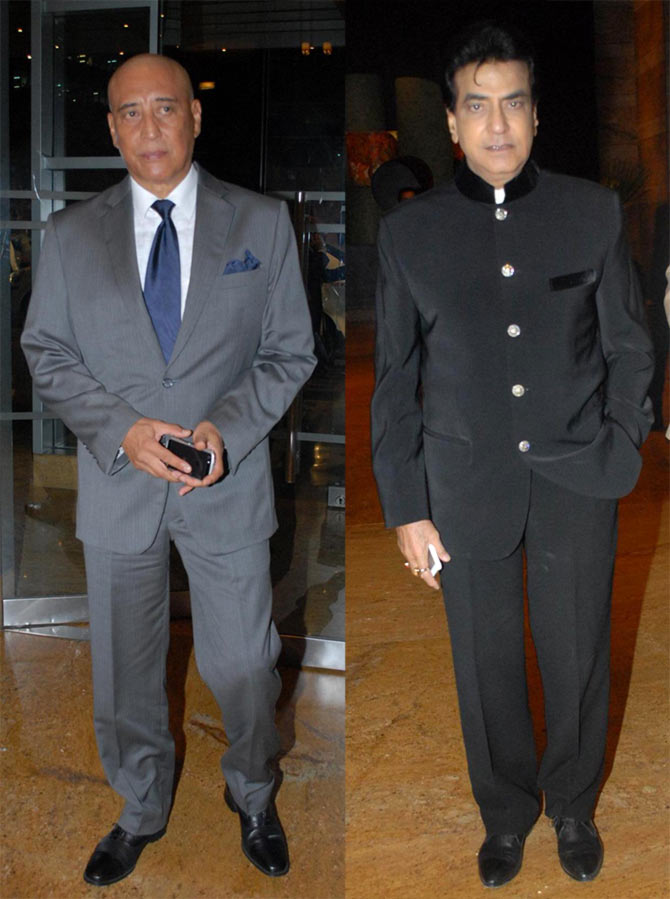 Danny Denzongpa and Jeetendra