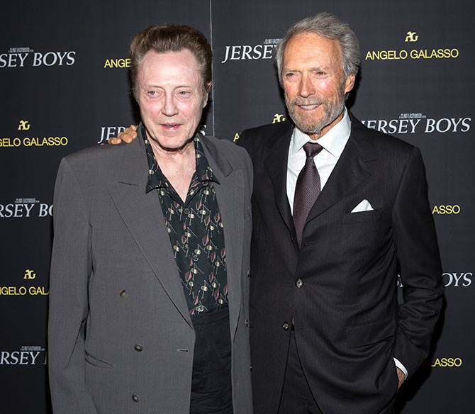 Clint Eastwood and Christopher Walken
