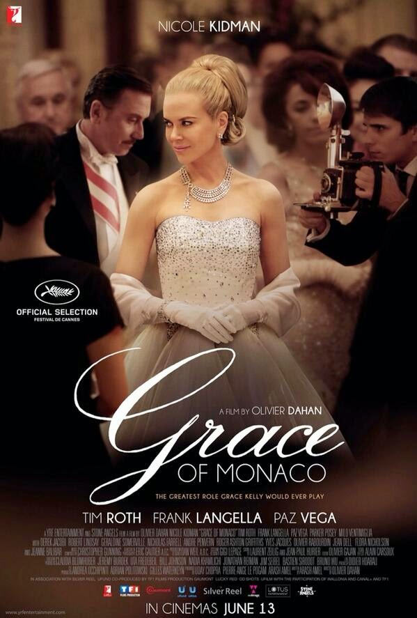 Movie poster of Grace Of Monaco