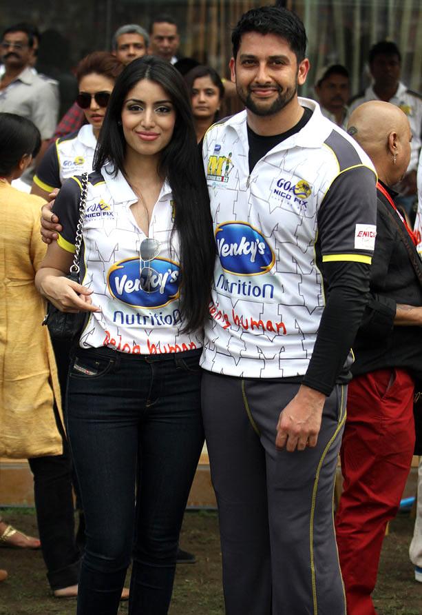 Aftab Shivdasani and Nin Dusanj