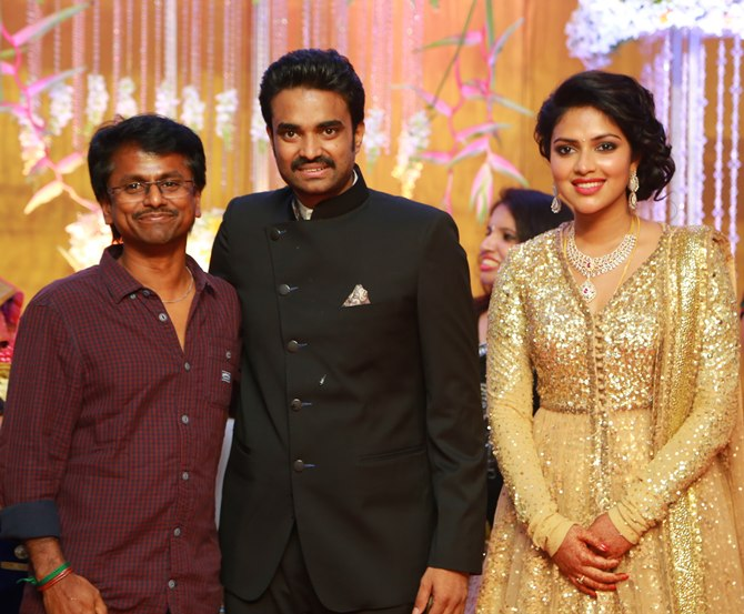 Murugadoss, Vijay and Amala Paul