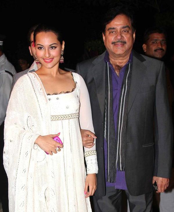 Sonakshi Sinha and Shatrughan Sinha