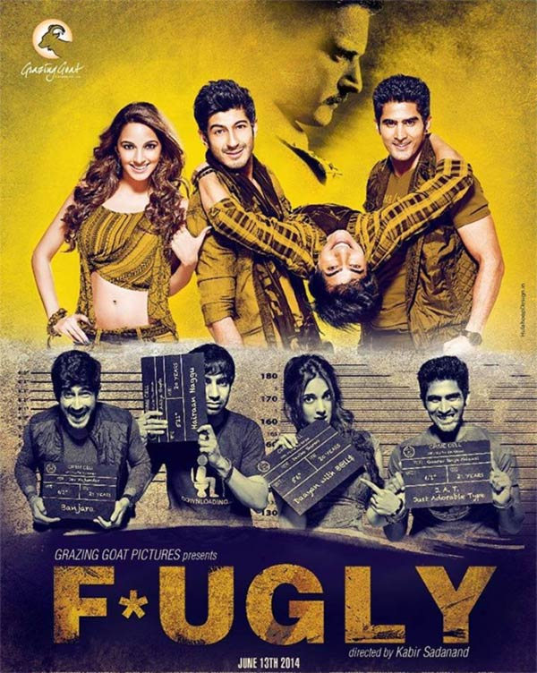 Movie poster of Fugly