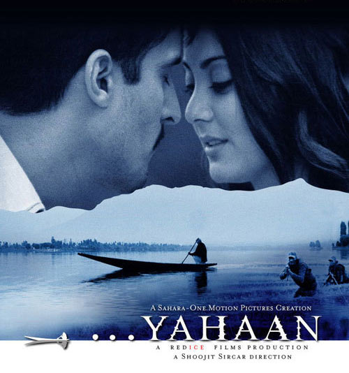 Jimmy Shergill, Minisha Lamba in the poster of Yahaan