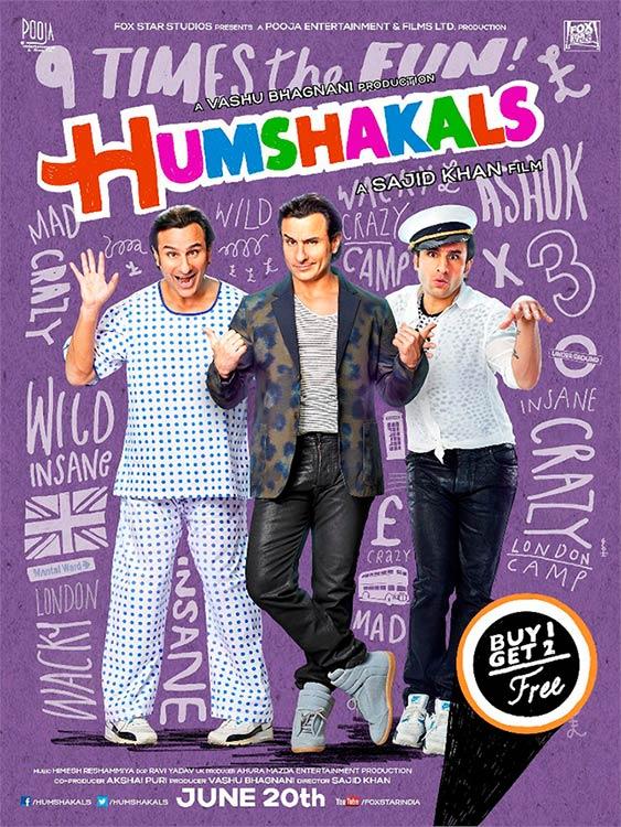 Movie poster of Humshakals