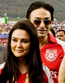 Preity Zinta and Ness Wadia, in better times