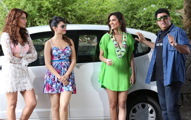 Bipasha Basu, Tamannah, Esha Gupta and Sajid Khan