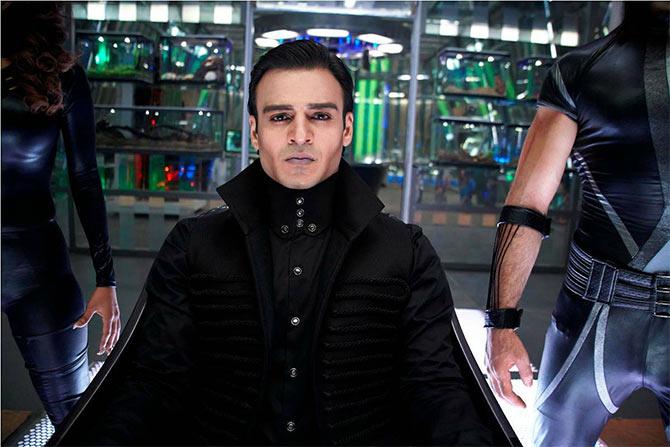 Vivek Oberoi in Krrish 3
