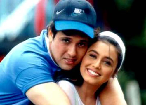 Govinda and Rani Mukerji in Hadh Kar Di Aapne