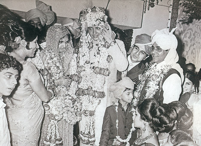 Rakesh Roshan's wedding day