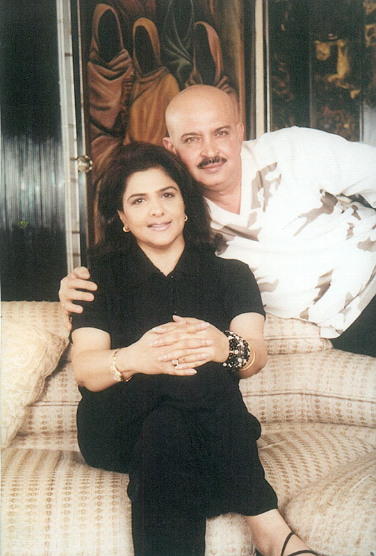 Rakesh Roshan with wife Pinky
