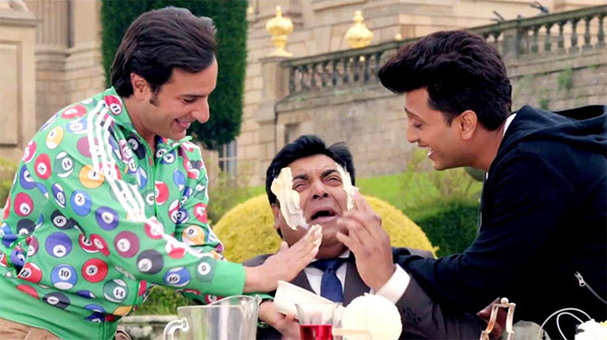 Saif Ali Khan, Ram Kapoor and Riteish Deshmukh in Humshakals