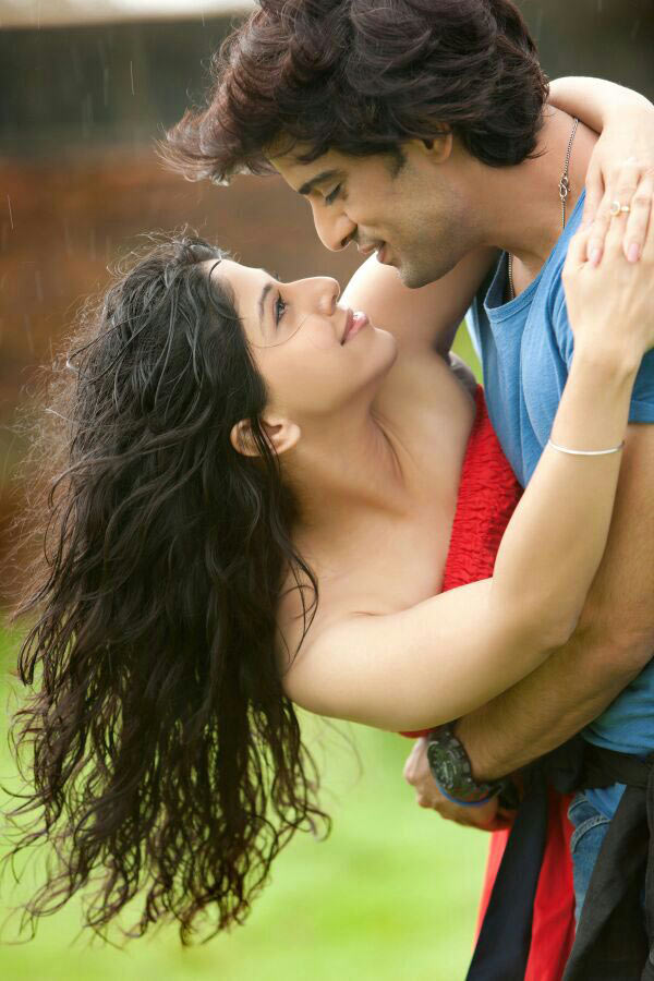 Aditi Shirwaikar and Mohit Malik