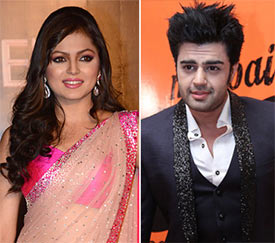 Drashti Dhami and Manish Paul