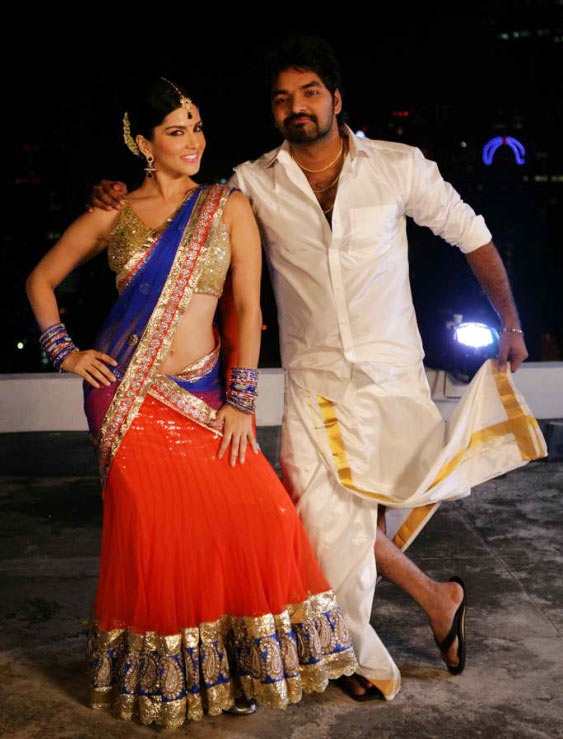 Sunny Leone and Jai in Vadacurry