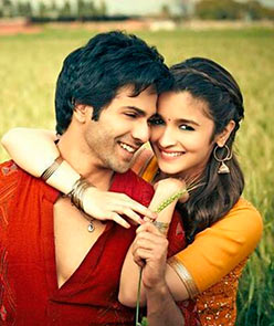 Varun Dhawan and Alia Bhatt in Humpty Sharma Ki Dhulaniya