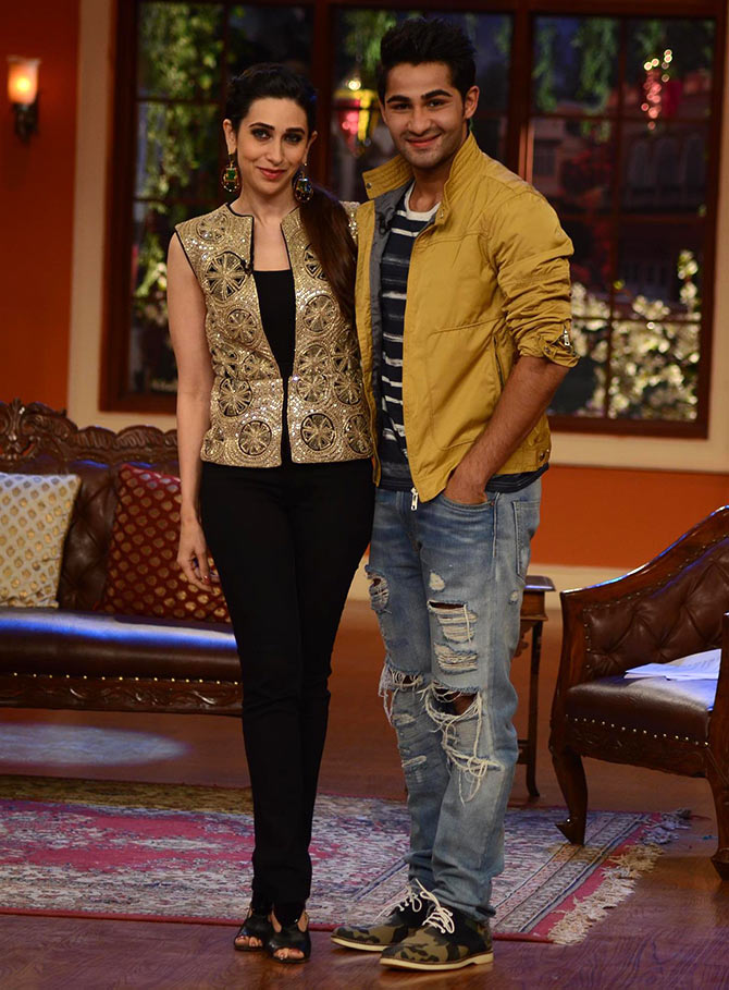 Karisma Kapoor, Armaan Jain on Comedy Nights with Kapil