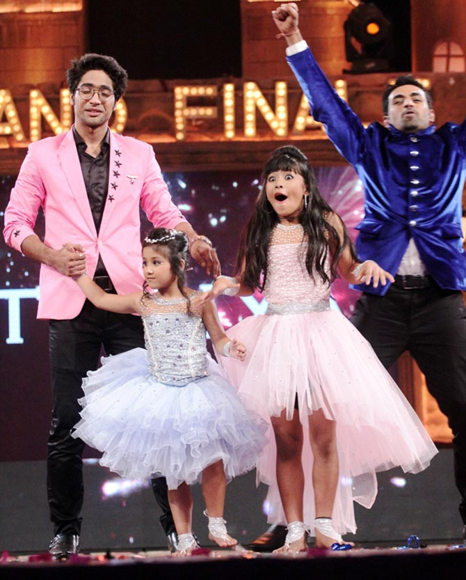 Teriya Magar after winning the Dance India Dance Li'l Masters