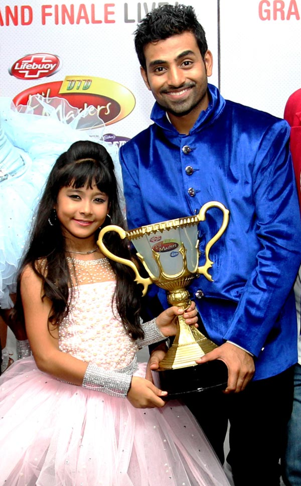 Teriya Magar with choreographer Omkar Shinde