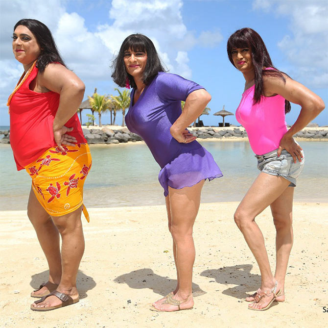 Ram Kapoor, Saif Ali Khan and Riteish Deshmukh in Humshakals